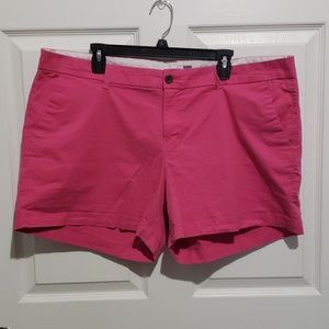 Old navy shorts in pink